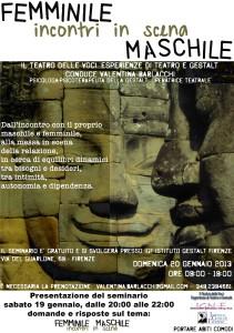 Femminile Maschile - 2013