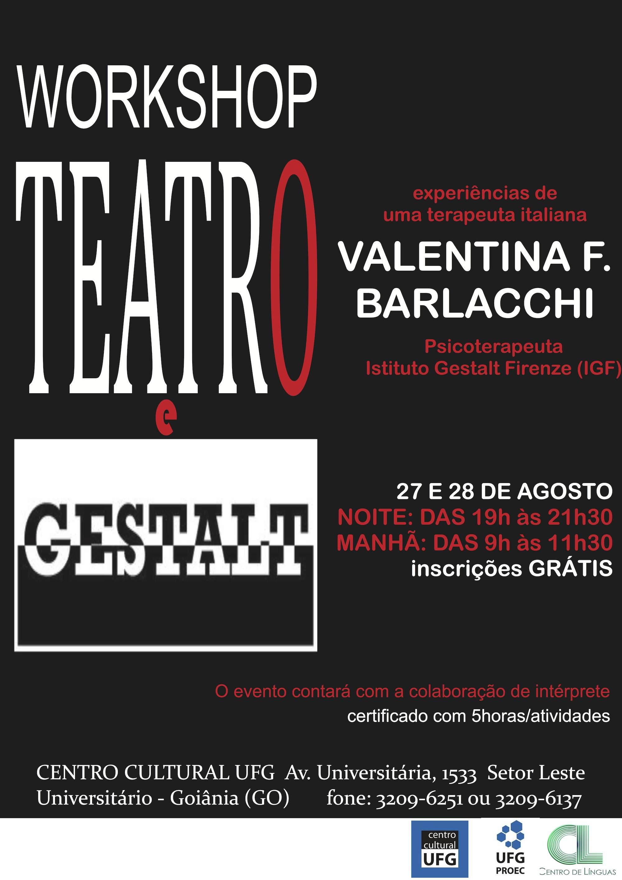 Teatro e Gestalt - Brasile 2012
